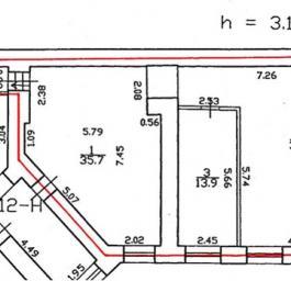 Помещение №12-Н: план