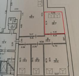 Помещение №718: план