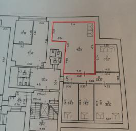 Помещение №717: план
