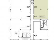 Помещение №505-506: план